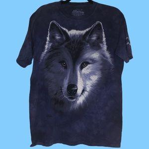 The Mountain Niagara Falls Wolf T-shirt medium